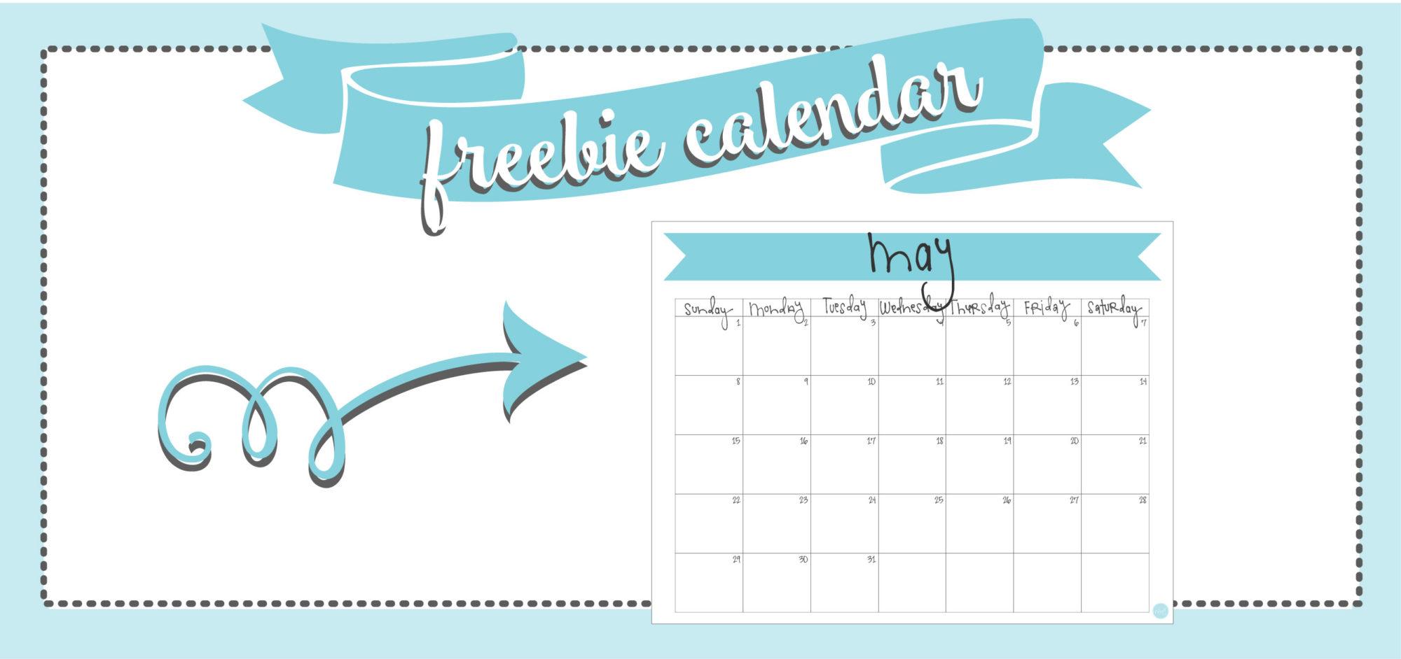 free printable calendars! may 2016