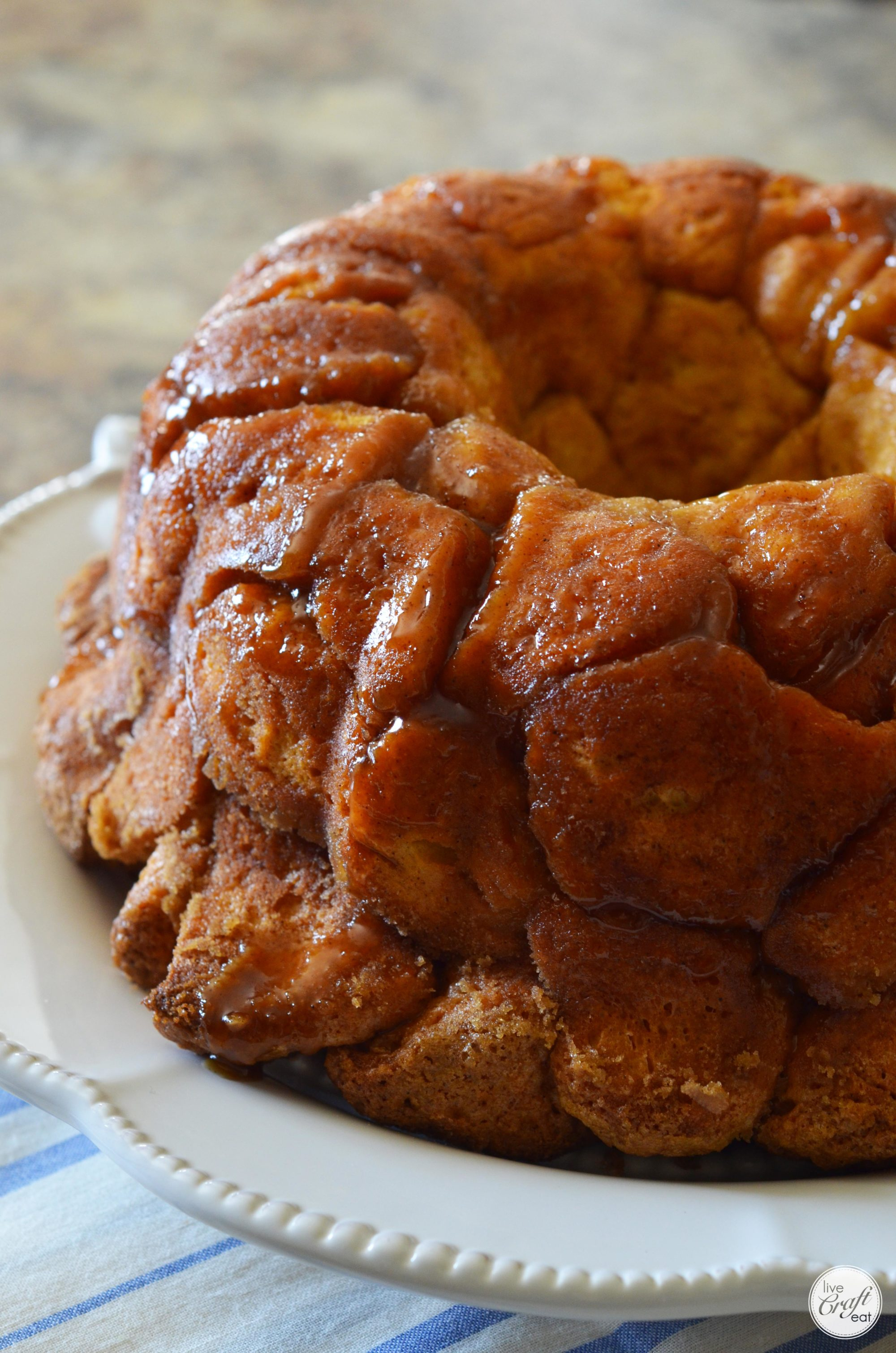 easy monkey bread recipe - only 5 ingredients!