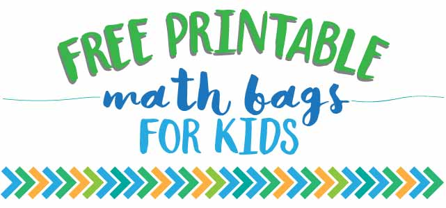 Free Printable Math Bag Games For Kids | Live Craft Eat