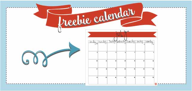 july 2016 free printable monthly calendar