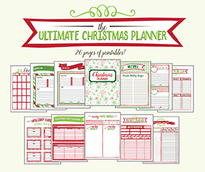 etsy.com - printable christmas planner - a life saver for the holiday season!
