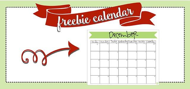 free printable december 2016 monthly calendar! keep december organized with this free printable calendar!