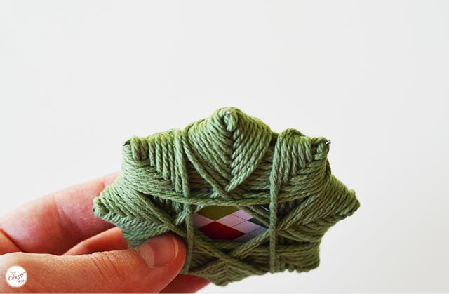 how to make an adorable woven christmas star ornament