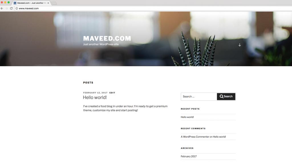 Maveed 2017 Theme
