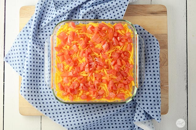 tomatoes for 7-layer dip