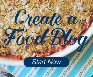 how to create a food blog