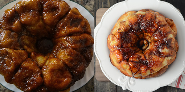 before and after monkey bread