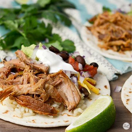 amazingly simple slow cooker pork tacos
