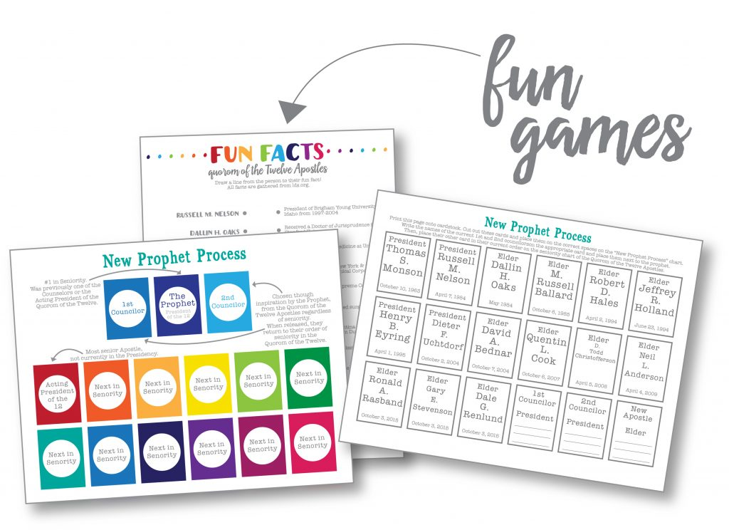 free printable family home evening games