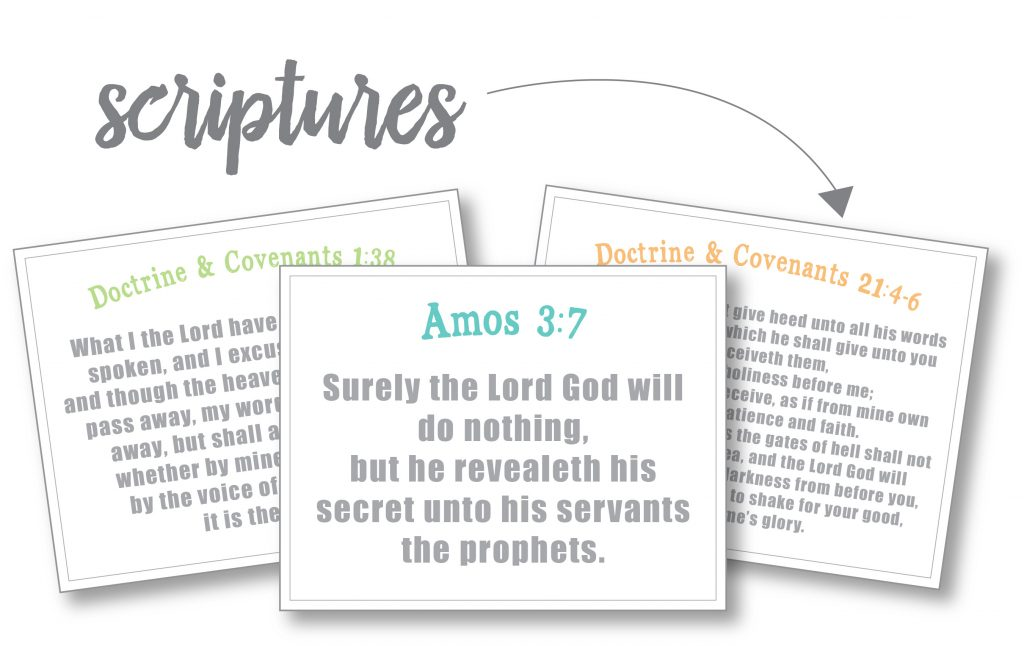 printable scriptures on prophetic succession