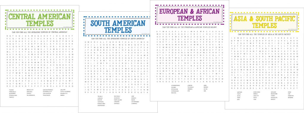 printable lds word searches