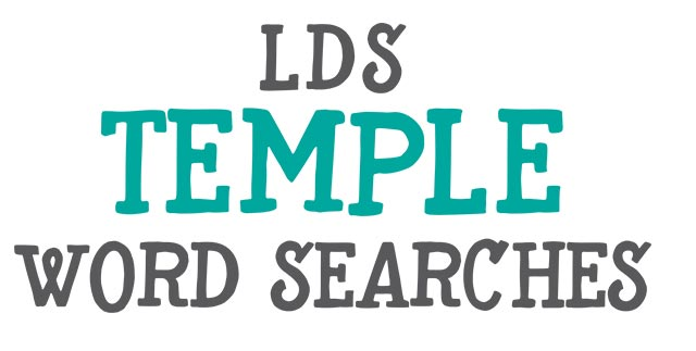 lds temple word searches